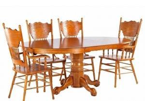 Мик столовая комплект: стол обеденный 122/183х122 MK-1112-GD + 6 стульев MK-1114-GD