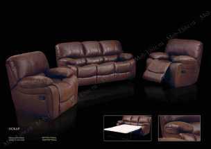 Оскар диван-кровать 3 местный замша