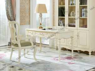 Белый Цветок стол письменный 520