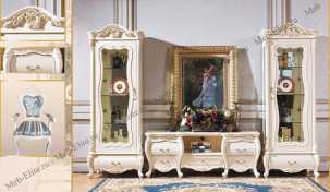 Мона Лиза гостиная белый