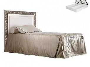 Тиффани кровать 120х200 с подъемным механизмом штрих-серебро