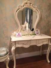 Белый Цветок зеркало туалетного стола 8803-В
