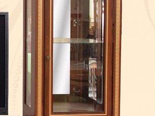 Ариза Шанс витрина 1 дверная орех