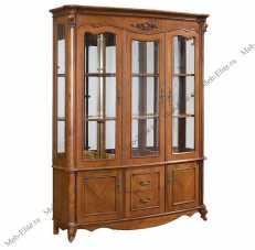 Карпентер 230-1 витрина с 3 дверная со стеклом