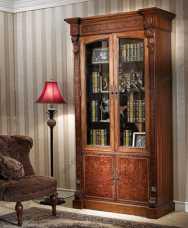 Луи 16 (Louis XVI) шкаф книжный 2 дверный