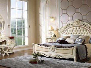 Ноэми спальня комплект: кровать 180х200 + 2 тумбы прикроватные + туалетный стол с зеркалом + шкаф 5 дверный