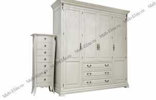 Адалия (Adalia) шкаф 4 дверный 851-4