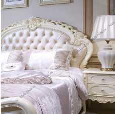 Белый Цветок кровать 180х200 8801С