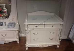 Афина  стол пеленальный белый