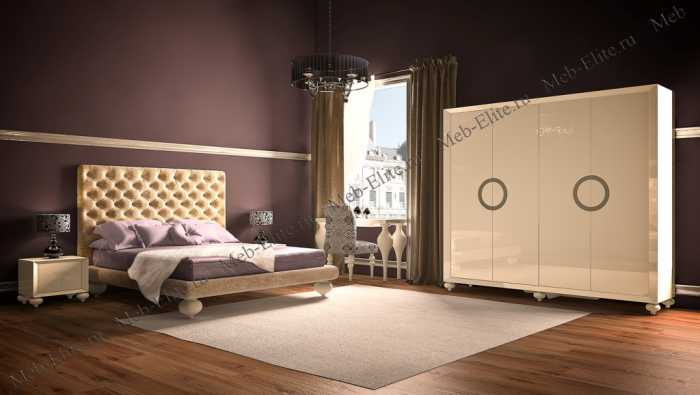 Палермо спальня бежевая