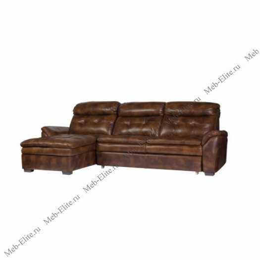 Франкфурт диван угловой  3169 A шоколад У-7