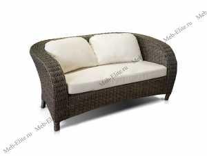 Ротанг Римини диван 2 местный