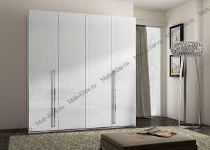 Каприз шкаф 4 дверный белая