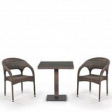 Комплект мебели 2+1 T601G/Y90G-W1289 Pale 2Pcs иск. ротанг