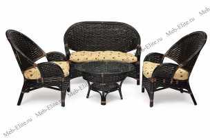Чорчилл Нью комплект: диван + столик + 2 кресла