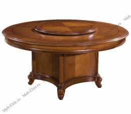 Карпентер 230-1 стол обеденный 160х160 орех светлый тон