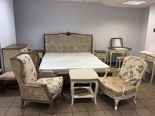 Белая роза комплект спальни с матрасом, выставочный образец