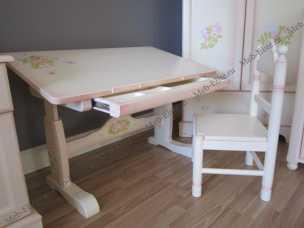 Эльфы стол письменный трансформер 48-61 детский