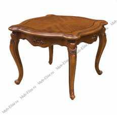 Карпентер 230-1 столик чайный малый квадратный орех светлый тон