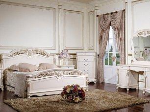 Афина спальня белая с жемчугом