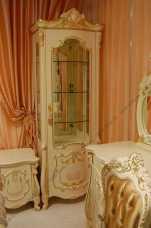 Магдалена витрина 1 дверная слоновая кость, выставочный образец