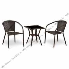 Комплект мебели (иск. ротанг)  2+1 T25/ Y137C -W51-2PCS