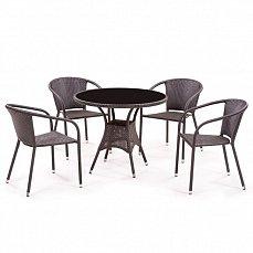 Комплект мебели 4+1 T197AS/ Y137B-W51 иск. ротанг