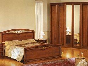 Аврора спальня орех