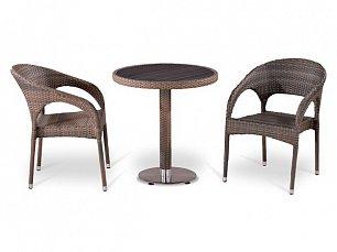 Комплект мебели 2+1 Т501DG/ Y90CG-W1289 иск. ротанг