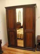 Вивальди шкаф 3 дверный с зеркалами
