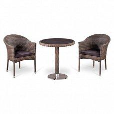 Комплект мебели 2+1 Т501DG/ Y350G-W1289 иск. ротанг