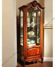 Луи 15 (Louis XV) витрина 1 дверная 651-1 орех