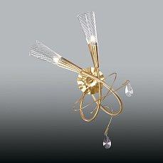 AEREO Бра Арт.711623 (SB1105/2L K) 2х40W G9 gold