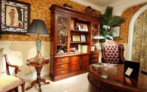 Луи 15 (Louis XV) шкаф книжный тн-551-4 орех
