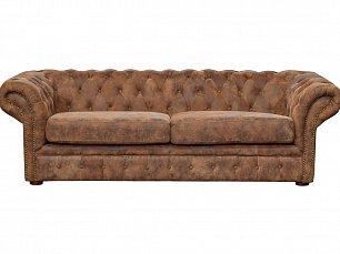 Гарда 3 местный кожаный диван PJS06603-PJ349