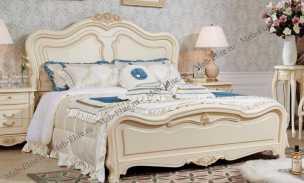 Белый Цветок кровать 180х200 9901-А2