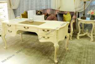 Луи 15 (Louis XV) стол письменный 570В вайт