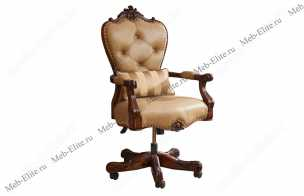 Луи 15 (Louis XV) кресло рабочее mg-520 орех
