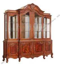 Луи 15 (Louis XV) витрина 4 дверная 751B-4 орех