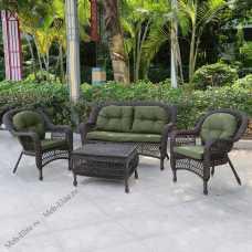 Комплект мебели (иск.ротанг) 2+1+1 LV520BG