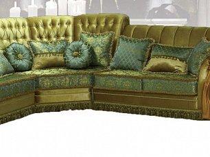 Валенсия мягкая мебель (бант) диван угловой+кресло