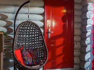 Флоренция кресло-яйцо подвесное иск. ротанг