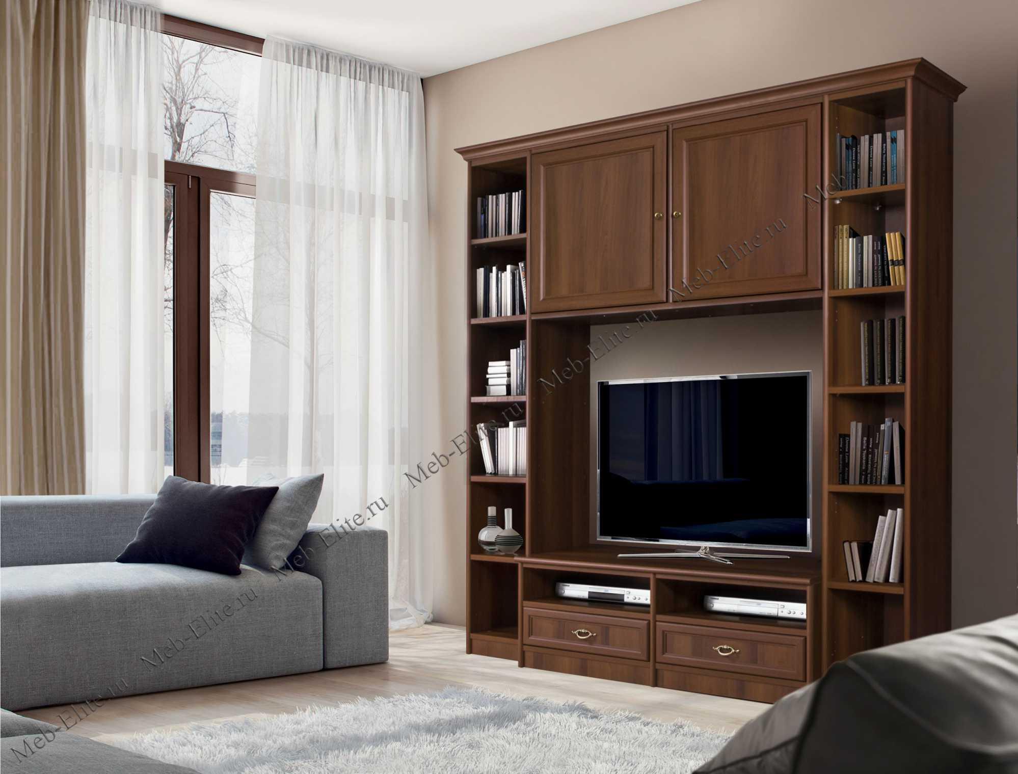 венеция модульная система для гостиной комп 301 ноче купить со