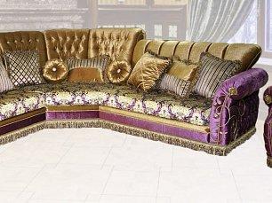 Валенсия мягкая мебель (ковка) диван угловой+кресло