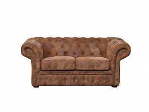 Гарда 2 местный кожаный диван  PJS06602-PJ349