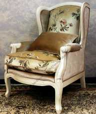 Белая роза Кресло DF830 Rose М01