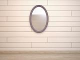 Леонтина зеркало овальное ST9333ETG/L лаванда