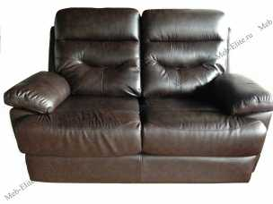 Мик диван 2 местный MK-4704-BRL кожа