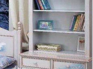 Лесная симфония шкаф-стеллаж 2 двери детский