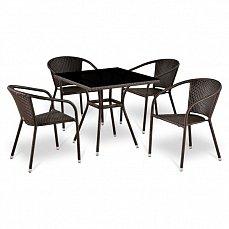 Комплект мебели 4+1 T283ВNS/ Y137С-W51-4PCS иск. ротанг